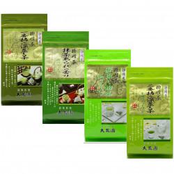 offre découverte 80 sachets 20 x 4 thés verts japonais