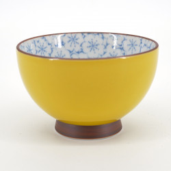 japanese yellow sakura flower teacup KISAKURA