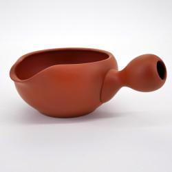 japanese red terracotta teapot SHÔRYÛSAKU SHUDORO