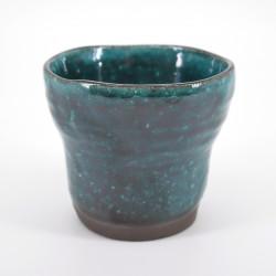 tasse bleu turquoise japonaise en céramique HISUIMARUCHI