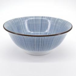 japanese blue line râmen bowl SENDAN TOKUSA