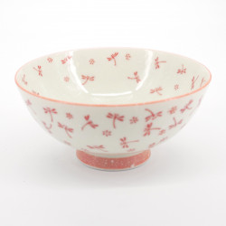 japanese rice bowl Ø11,5cm red dragonfly KOYUKI TOMBO