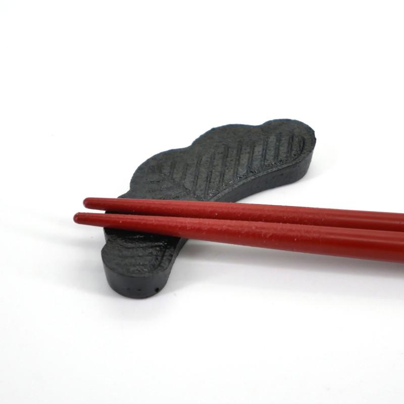 japanese cast iron chopsticks rest pine MATSU