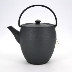 japanese high prestige teapot, CHÛSHIN KÔBÔ MARUTSUTSU, black
