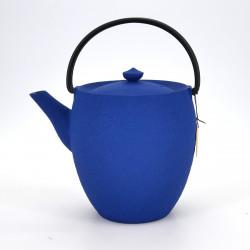 théière haute fonte bleue prestige japonaise chûshin kôbô MARUTSUTSU