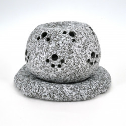 japanese perfume burner for aromatherapy essential oils in stone GANZO