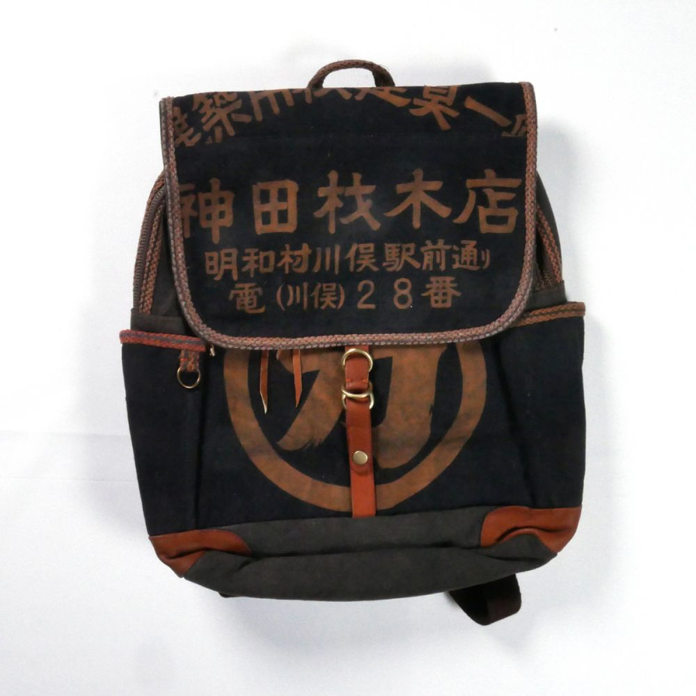 Japanese single backpack cotton 148 B