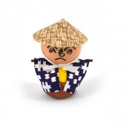 bambola giapponese okiagari protettore, KAKASHI, spaventapasseri