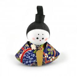 bambola giapponese okiagari protettore, OHINASAMA, uomo