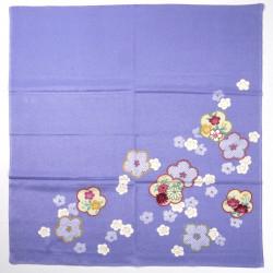 furoshiki japonés, HIKITAUME, púrpura