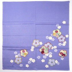japanese furoshiki, HIKITAUME, purple