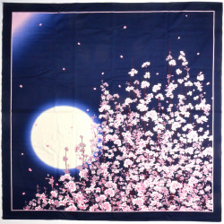 japanese furoshiki, NIHON NO HARU, spring night