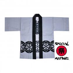 giacca di cotone giapponese haori per il festival di matsuri, HOÎRU, ruota