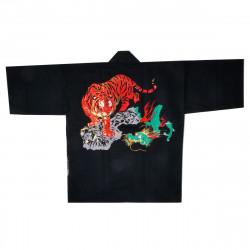 Chaqueta japonesa de algodón haori para festival de matsuri, RYÛ, dragón