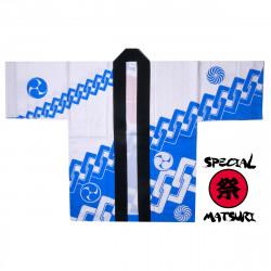 giacca di cotone giapponese haori per il festival di matsuri, CHEN, catena