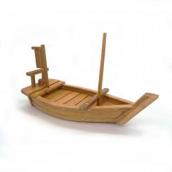 bateau pour sushi décoration bois naturel en bambou L50cm MOKUSEIBÔTO