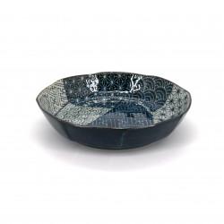 Placa de cerámica hueca redonda japonesa KPAKM50
