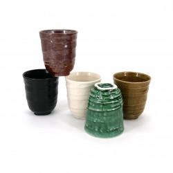 set de 5 tazas japoneses ZEN