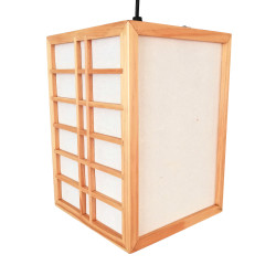 Japanese ceiling lamp natural color GURRIDDO