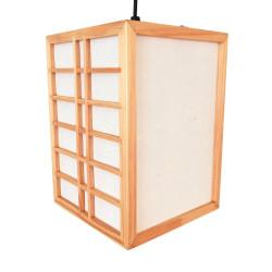 Lampe japonaise plafonnier couleur naturelle GURRIDDO