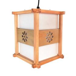 Lampe japonaise plafonnier couleur naturelle IDO