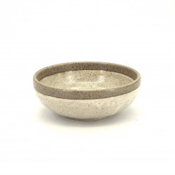 japanese bowl in ceramic Ø17x6,2cm SHIRATSUYU beige