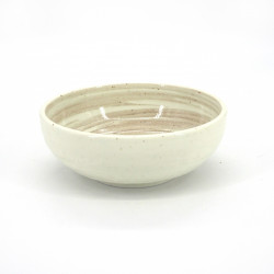 japanese bowl in ceramic Ø17x6,2cm KOCHI white