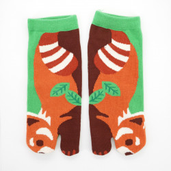 japanese cotton tabi socks, RESSAPANDA, green