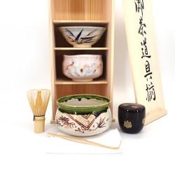 Service für die japanische Teezeremonie, SADO, PRESTIGE 5 pcs