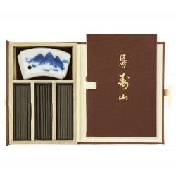 Piccolo libro 60 bastoncini di incenso, JINKOH JUZAN, Aloe of the Mountain of Fortune