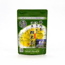 thé vert en poudre japonais récolté en été FUNMATSUCHA