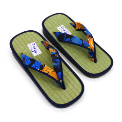 Japanese sandals zori rice straw Goza, DRAGON 2527