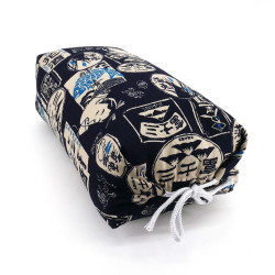 Japanese cushion stuffed with buckwheat pods, JAPAN