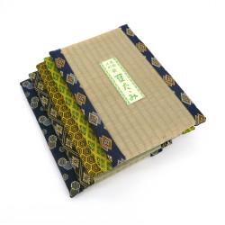 grand dessous de plat / théière rectangulaire en tatami 19 x 30 cm