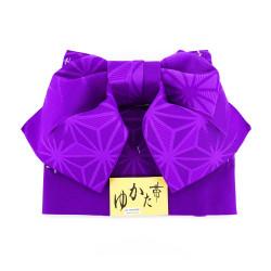 cintura e nodo tradizionale giapponese in poliestere, MUSUBI-OBI, scelta del motivo