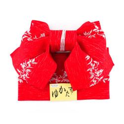 Cinturón nudo tradicional japonés de poliéster, MUSUBI-OBI, motivos de su elección