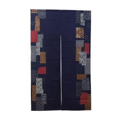 rideau japonais NOREN Patchwork
