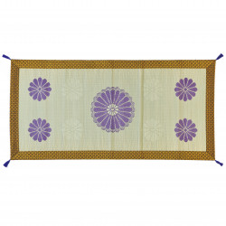 Alfombra hecha de paja de arroz, KIKKO, meditación 88x180cm