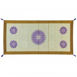 tapis natte en paille de riz méditation yoga KIKKO 88x180cm