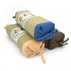 cojín makura hecho de paja de arroz de tamaño ajustable, IGUSA MAKURA, color de su elección