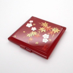 miroir de poche rouge, SYUNJU, automne