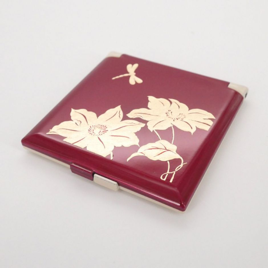 red pocket mirror, TOMBO, dragonfly