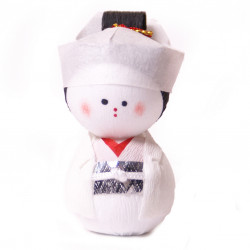 poupée japonaise okiagari doll HANAYOME, Jeune Mariée