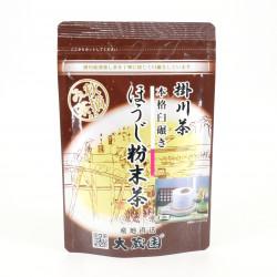 Japanischer grüner Tee in Pulverform, geerntet im Herbst FUNMATSUCHA
