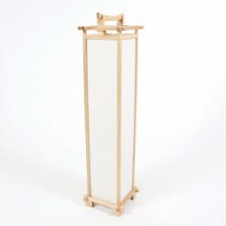 Grande lampe de table SHINDEN japonaise couleur naturelle