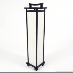 Large black Japanese SHINDEN table lamp
