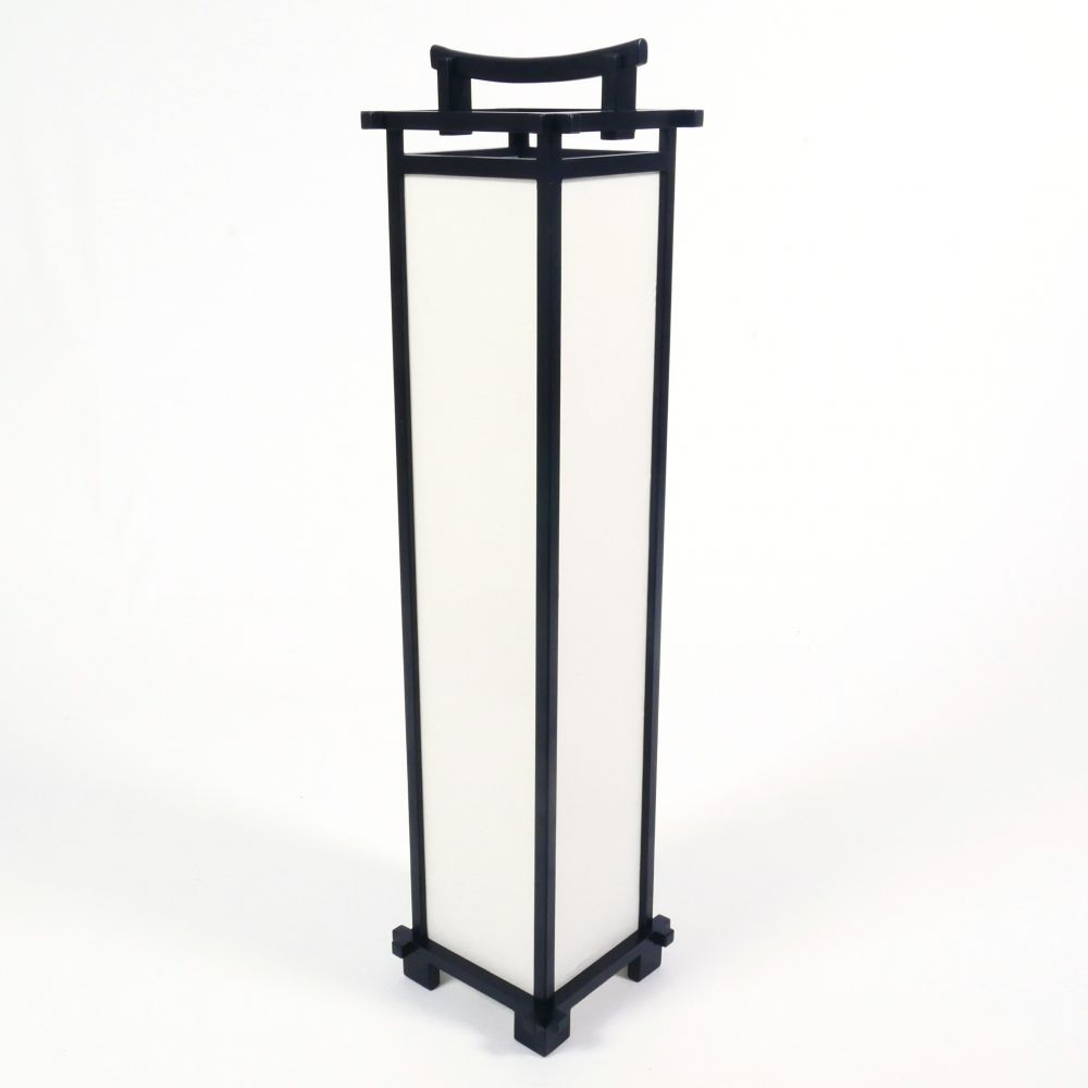 Large black Japanese SHINDEN table lamp