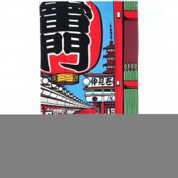 rideau japonais en rayonne NOREN ASAKUSA KAMINARIMON