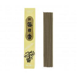 Box of 50 Japanese incense sticks, MORNING STAR VANILLA, vanilla