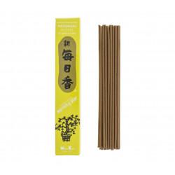 Box of 50 Japanese incense sticks, MORNING STAR PATCHOULI, patchouli fragrance